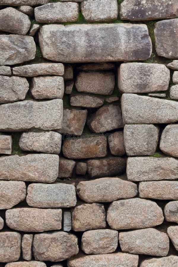 стена inca каменная стоковое изображение