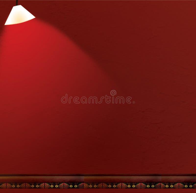 стена scrapbook предпосылки альбома красная иллюстрация вектора