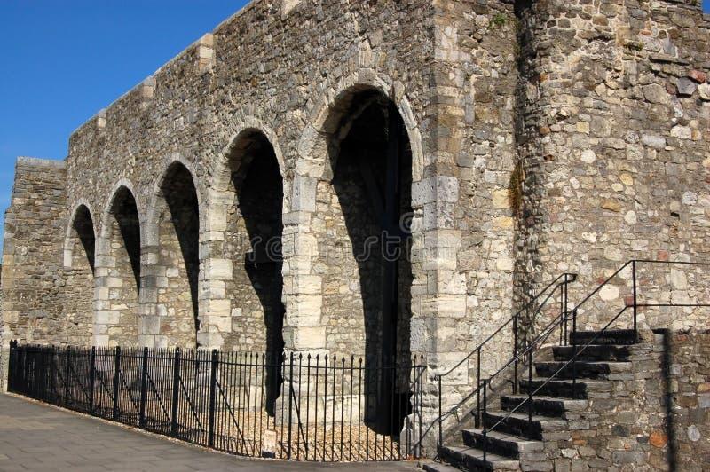 стена southampton города стоковая фотография rf