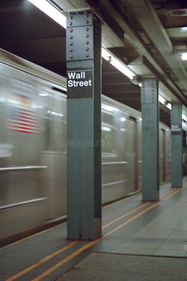 стена york улицы станции нерезкости новая стоковые изображения