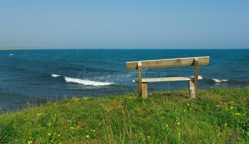 стенд пляжа деревянный стоковое изображение