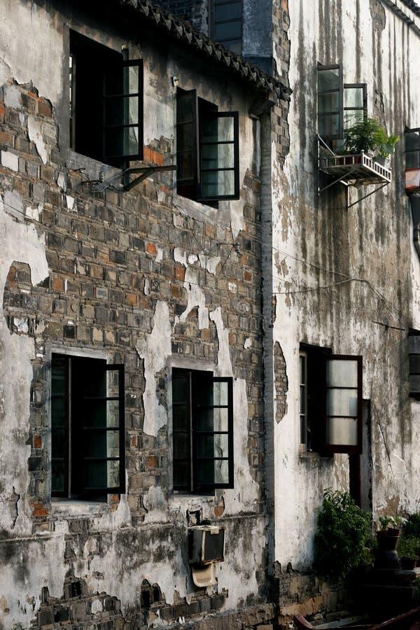 Стены архитектуры стиля Su стоковое фото rf
