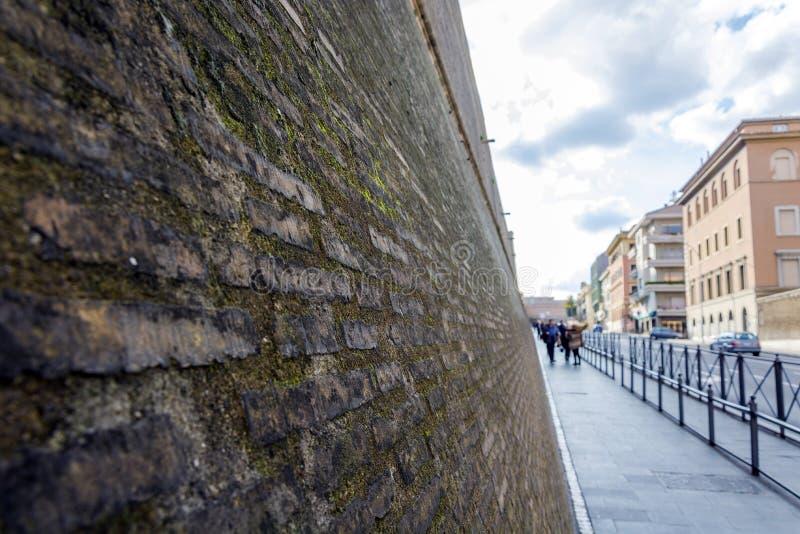 Стены Ватикана стоковые изображения