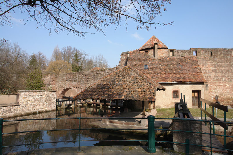 стены городка стоковые фото