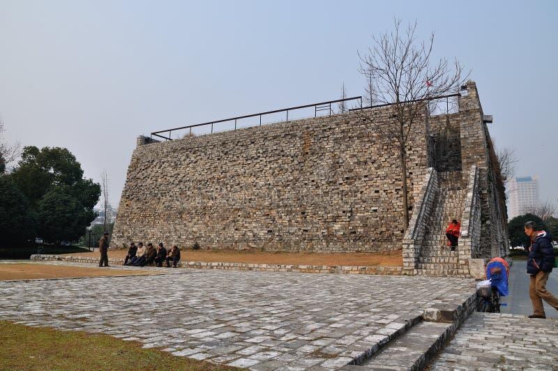 Стены города Xian стоковая фотография rf