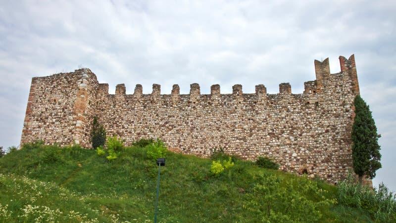 Стены городища стоковое изображение