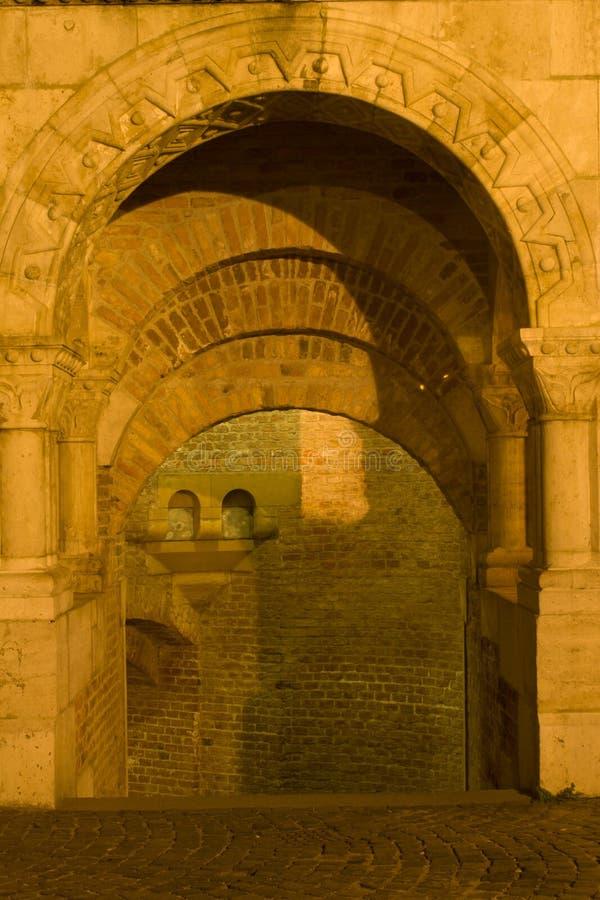 стены детали budapest стоковое фото