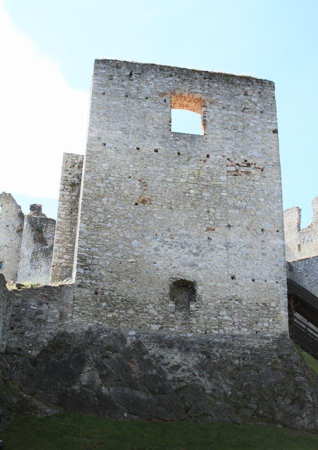 Стены замка стоковые изображения rf