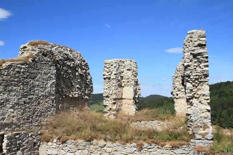 Стены замка стоковое фото