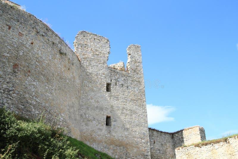 Стены замка стоковое фото rf