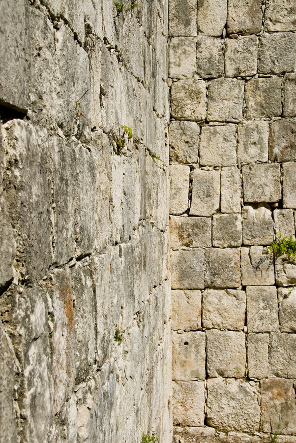 стены замока кирпича блока стоковое фото rf
