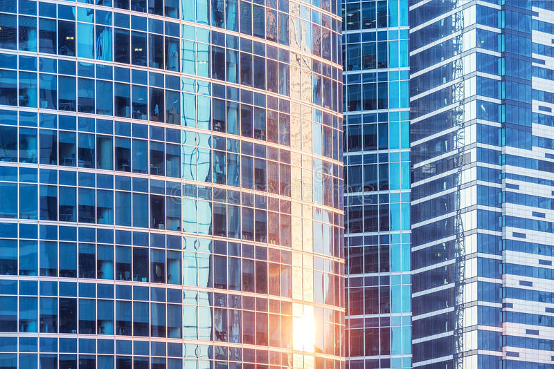 Стены офисных зданий стоковая фотография rf