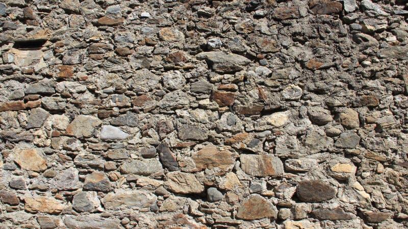 Стены старого stron каменные в историческом старом городке стоковая фотография rf