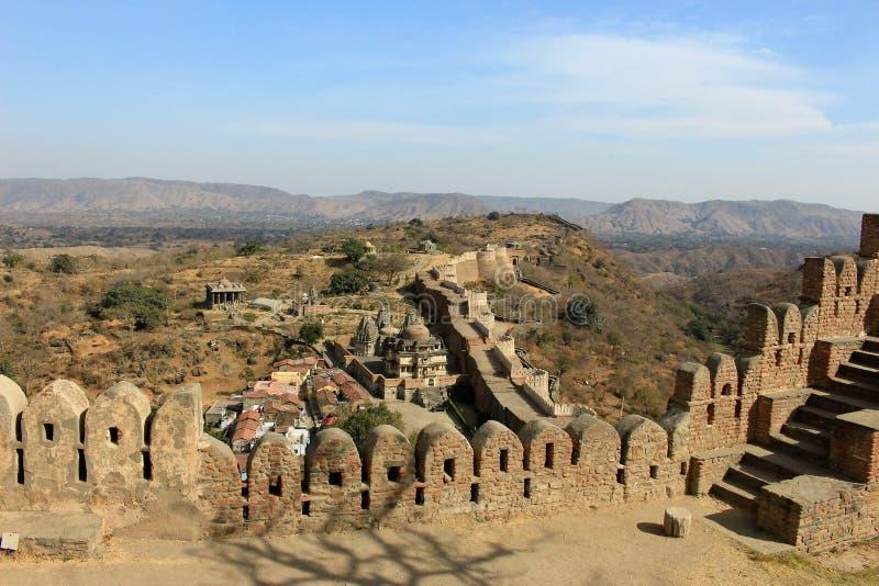 Стены форта стоковая фотография rf