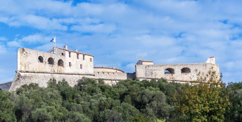Стены Carre форта в Антибе стоковая фотография rf
