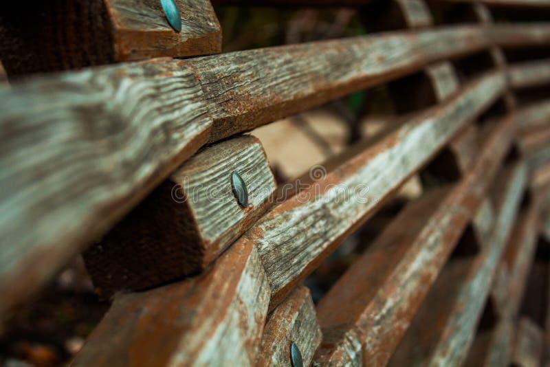 стенд деревянный стоковое изображение rf