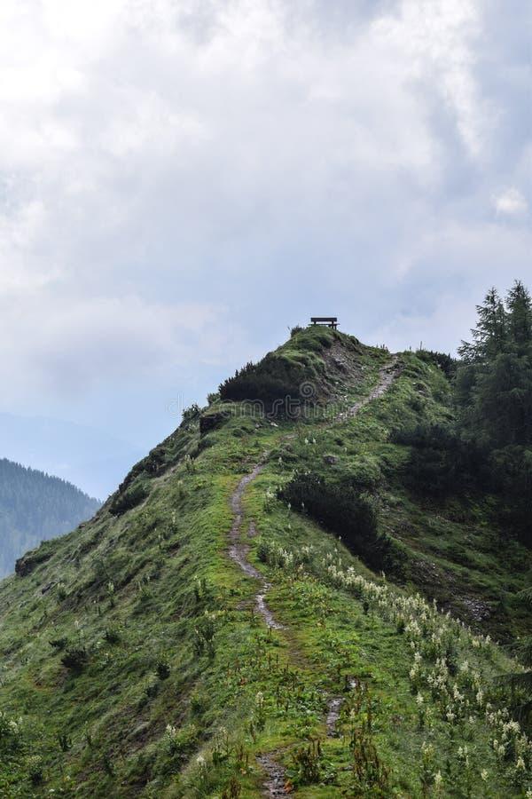 Стенд на холме стоковое изображение