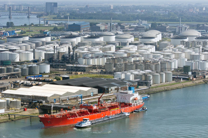 Стержень нефтяного танкера стоковое фото