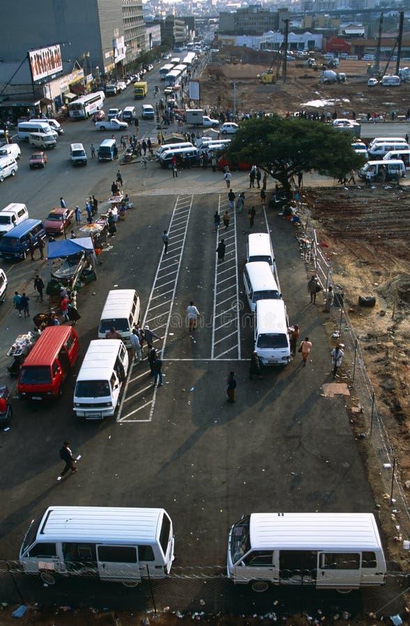Стержень общественного местного транспорта, Южно-Африканская РеспублЍ стоковая фотография rf