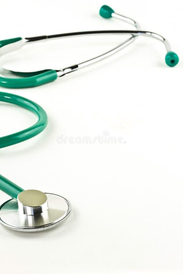 стетоскоп доктора s предпосылки стоковые фото
