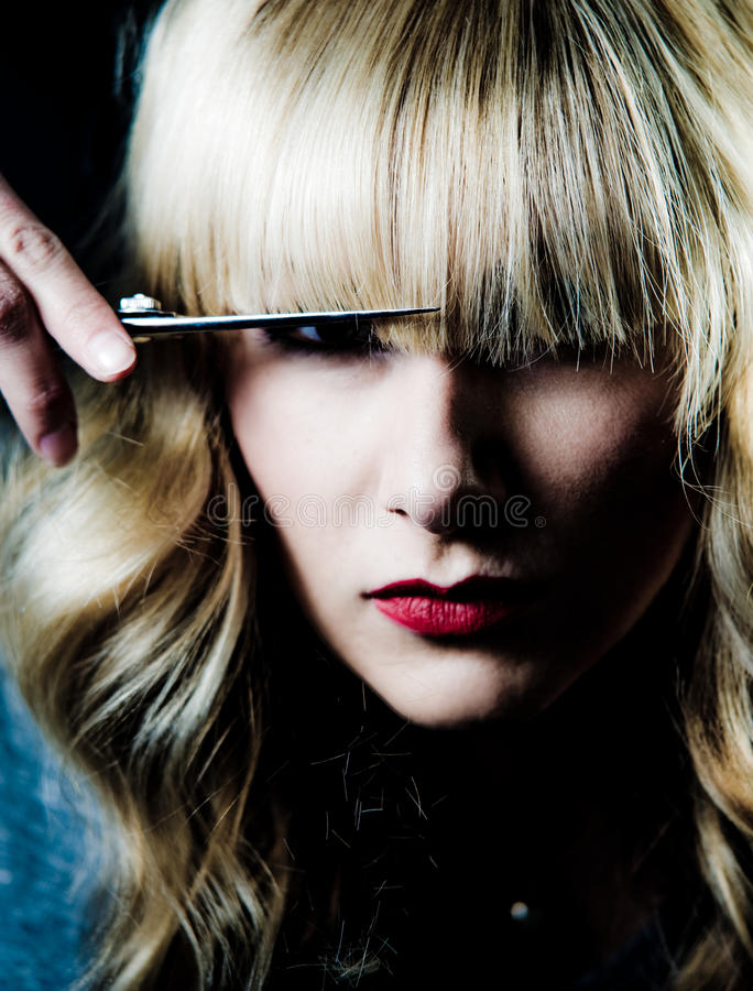 стилизатор волос стоковое изображение
