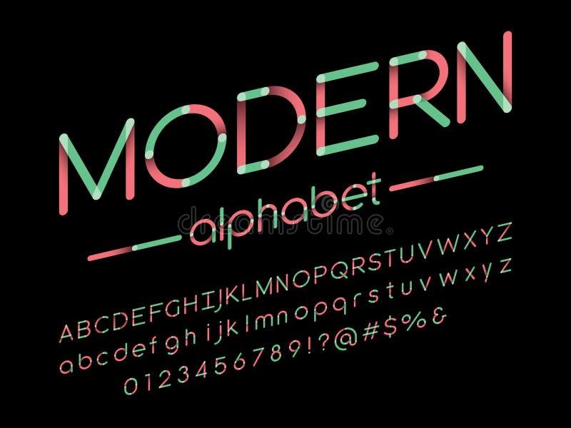 Стилизованный шрифт бесплатная иллюстрация