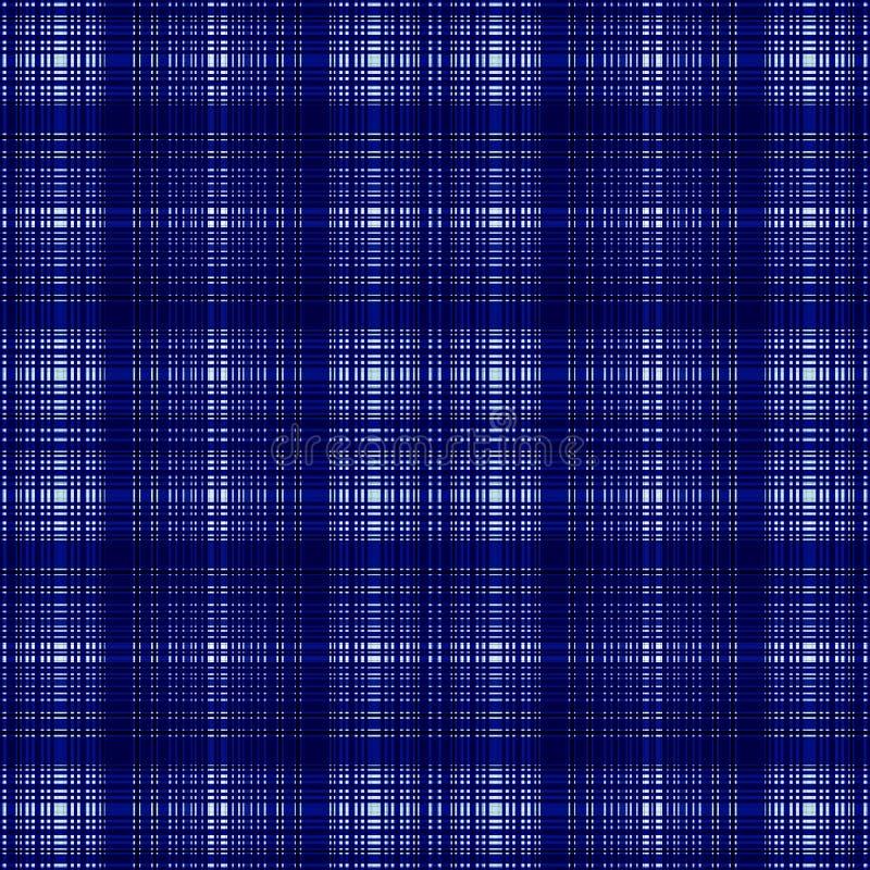 Стильная квадратная картина, ткань нашивки график шотландки иллюстрация вектора
