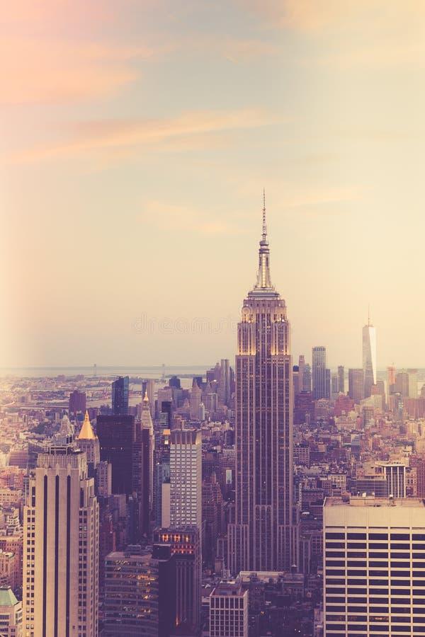 Стиль Нью-Йорка винтажный стоковые фото