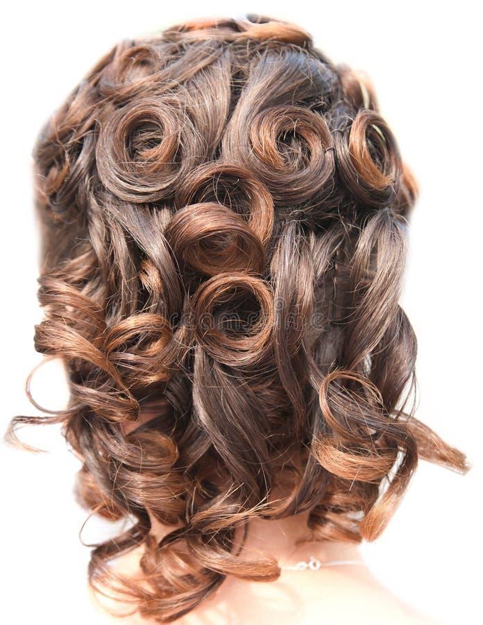 стиль причёсок девушки стоковые фотографии rf