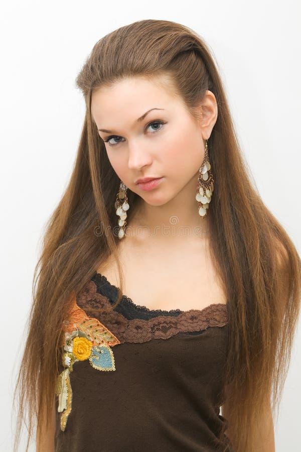 стиль причёсок стоковое изображение