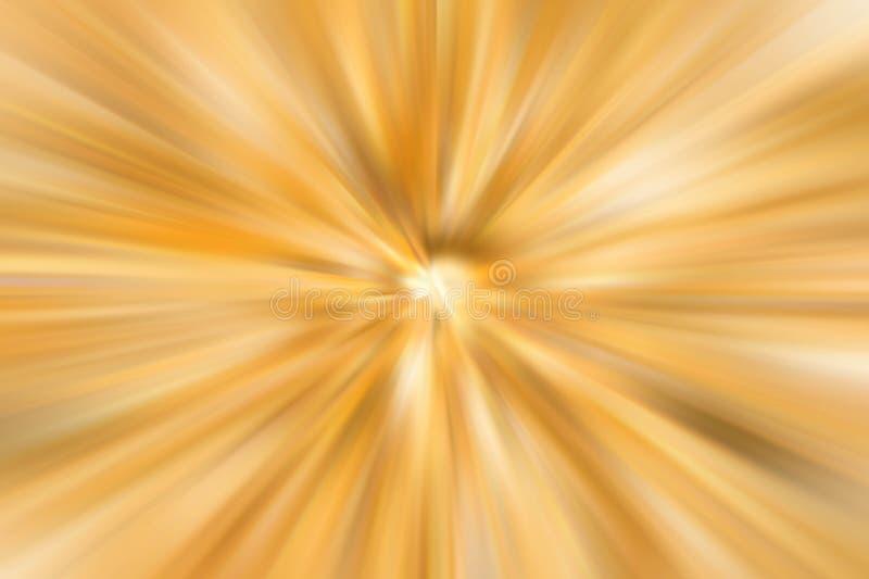 Стиля нерезкости абстрактной закрутки цвет радиального желтый и белый тонизирует назад стоковое фото rf