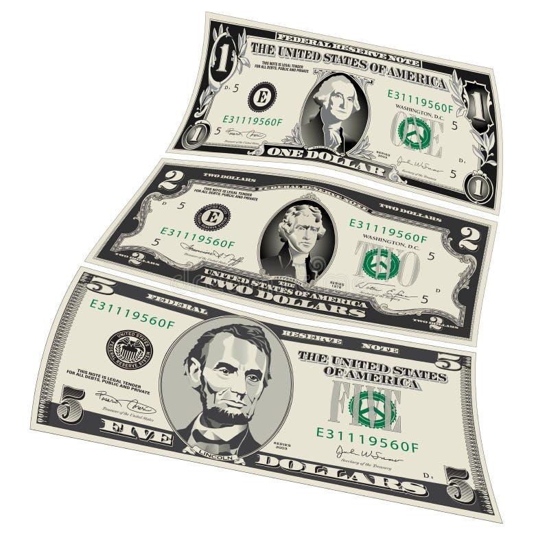 Стилизованные чертежи счетов бесплатная иллюстрация