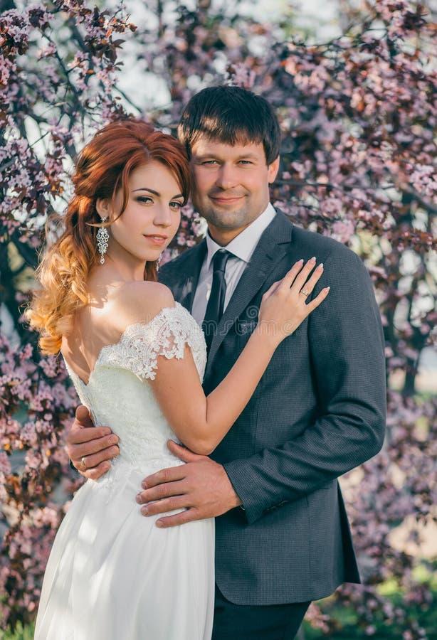 Стильная свадьба на природе стоковое изображение
