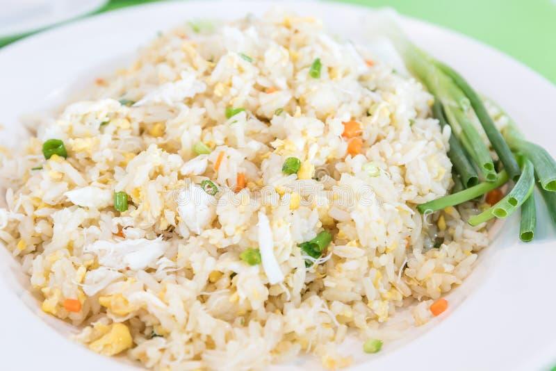 Стиль жареных рисов тайский стоковое изображение rf