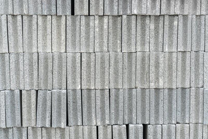 Стог бетонных плит для конструкции, предпосылки и Textur стоковое изображение rf