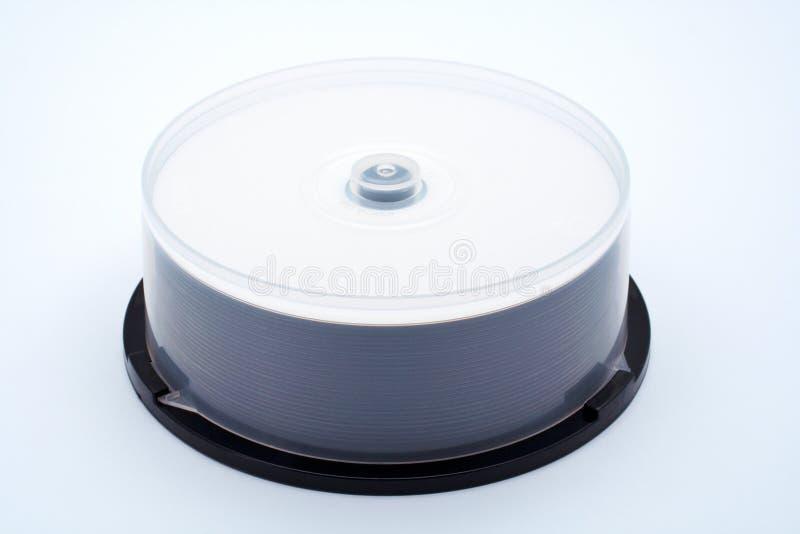 стог дисков cds стоковое изображение
