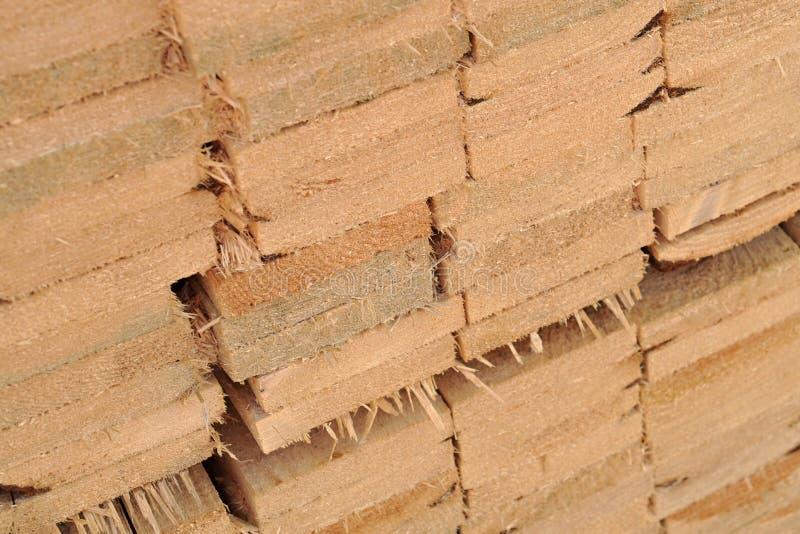Стог деревянных планок стоковое изображение