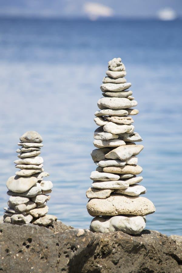 Стог камней стоковое фото rf