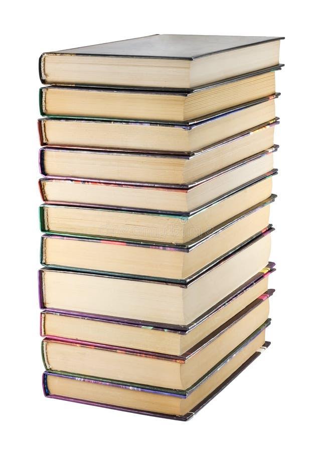 стог книг стоковая фотография