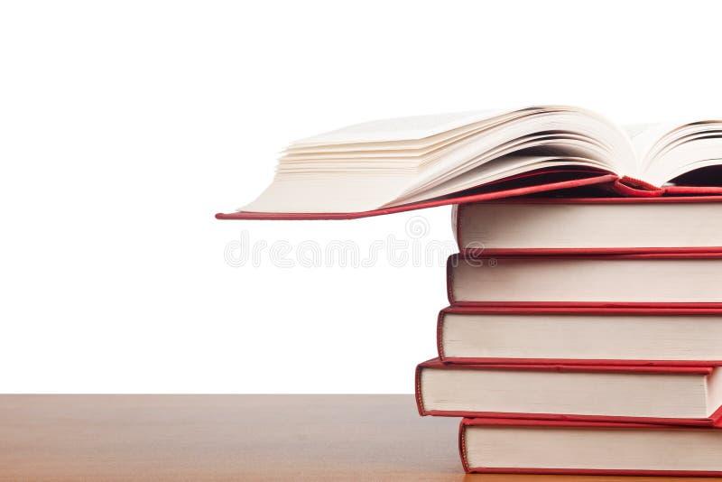 Стог книг стоковые изображения rf