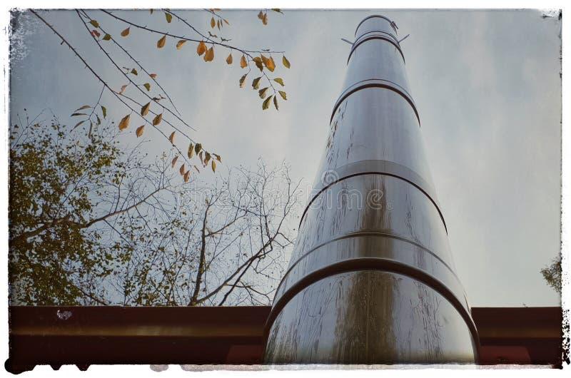 Стог печной трубы стоковое изображение