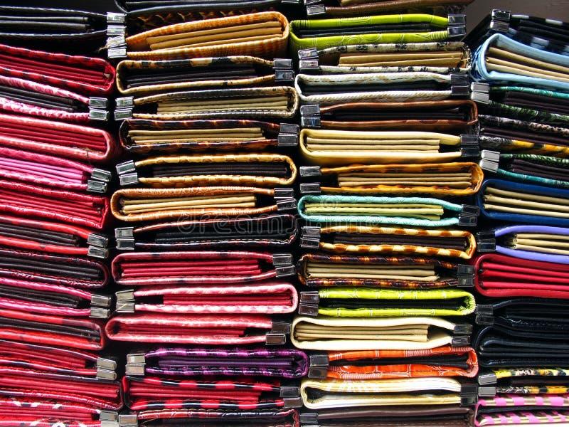 стог портмона повелительниц стоковая фотография
