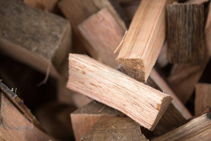 Стог разжигать древесины стоковые фото