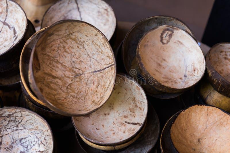 Стог раковины кокоса стоковые фото