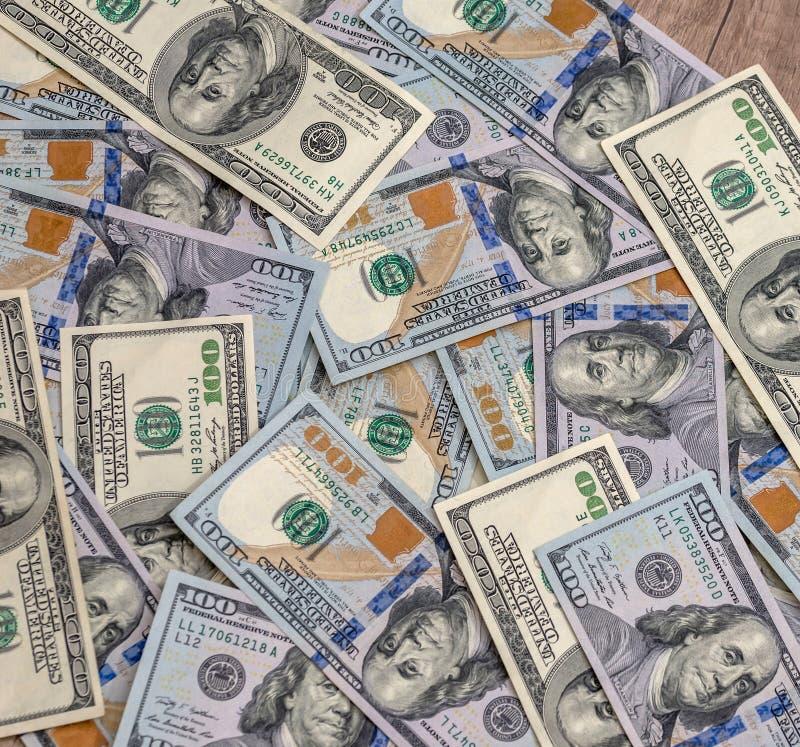 Стог счетов доллара США стоковая фотография