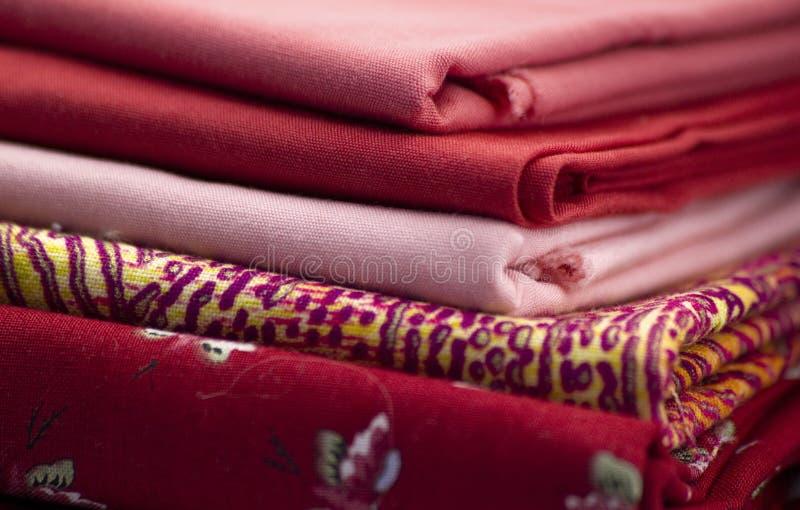 стог ткани стоковые изображения rf