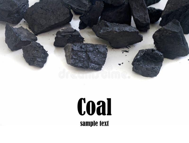 Стог угля стоковое фото