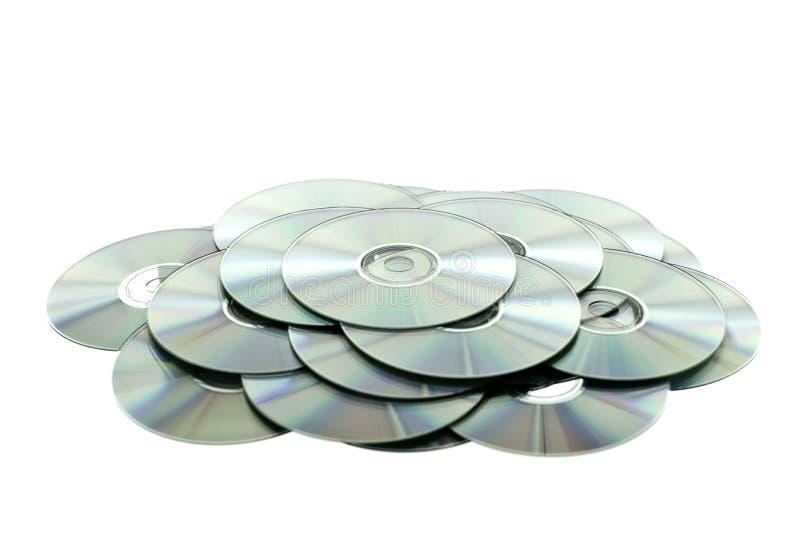 стог cds стоковые фото