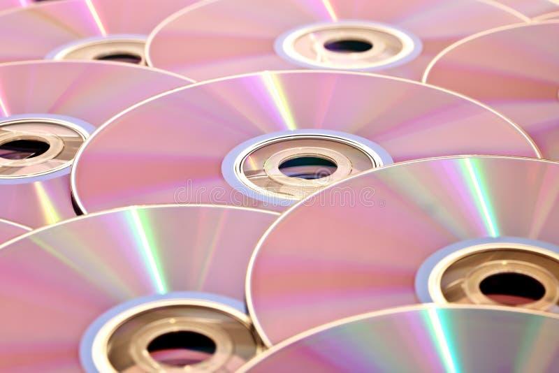 стог cds стоковые изображения