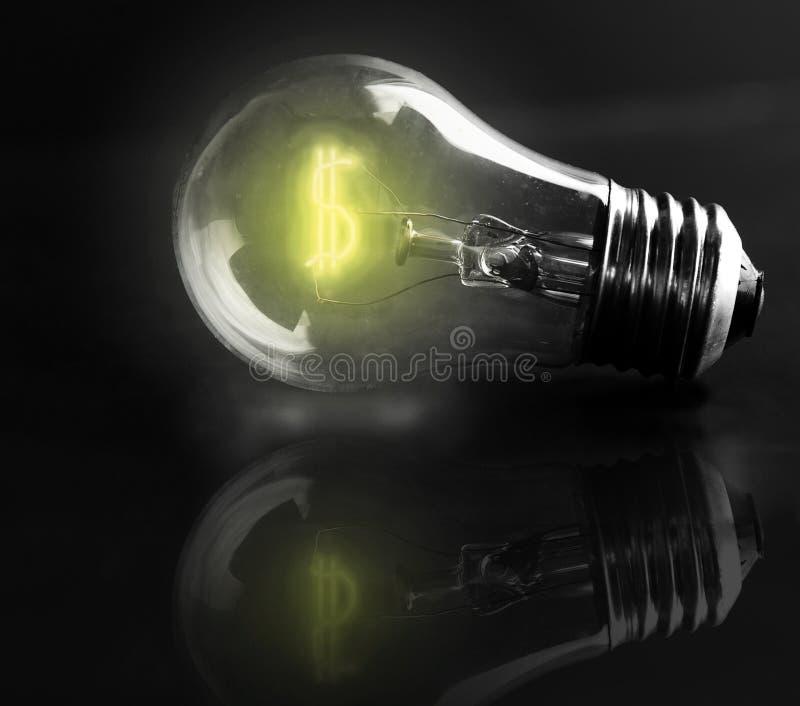 Стоимость энергии стоковая фотография rf